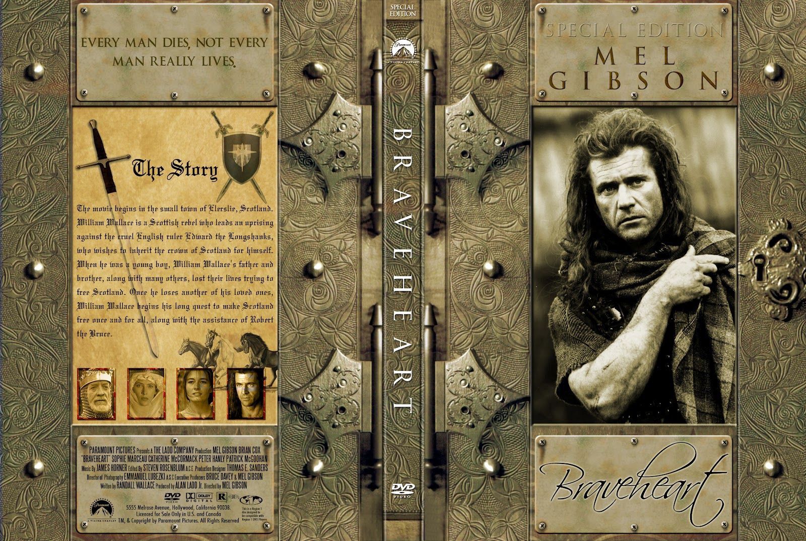 Braveheart Special Edition Dvd Front Cover