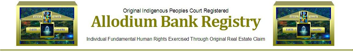 ALLODIUM BANK REGISTRY