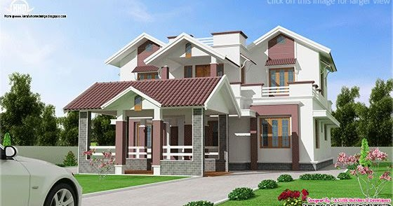 Beautiful new 2 floor villa design house design plans for Beautiful villa design