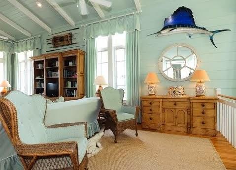 Estilo rustico casa rustica con decoracion marina beach for Casas con decoracion rustica