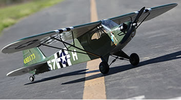 Green Scale Piper J-3 Cub Image
