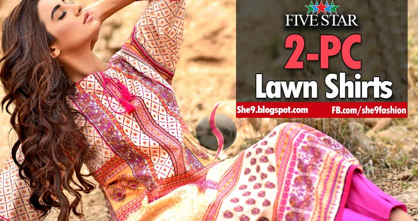 Five Star's Lawn Shirts / Kurti