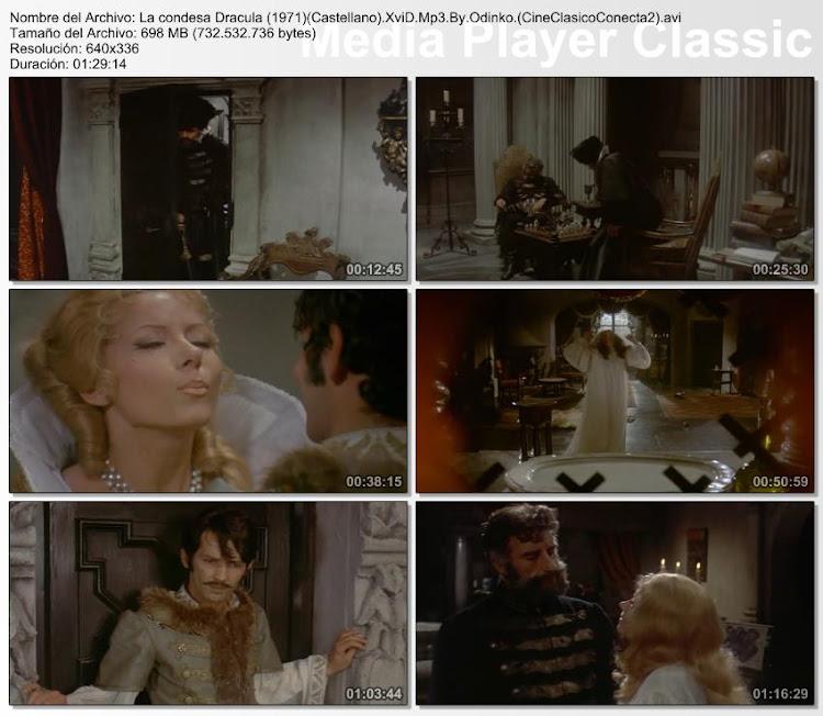Imágenes de la película, La condesa Drácula   1971   Countess Dracula