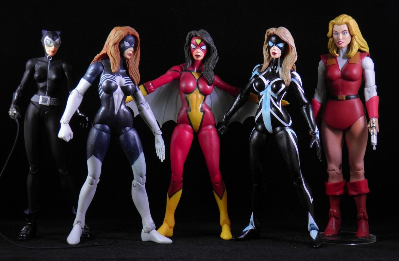 She's Fantastic: Marvel Select SPIDER-WOMEN!