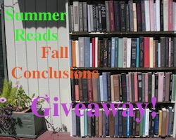 Summer Reads, Fall Conclusions Giveaway