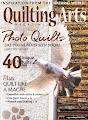 I've been published in the Feb/March 2020 issue of Quilting Arts!