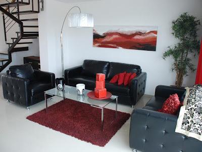 Como decorar mi casa blog de decoracion decoraci n de for Deco sala en blanco y negro