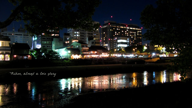 Night at Kamogawa