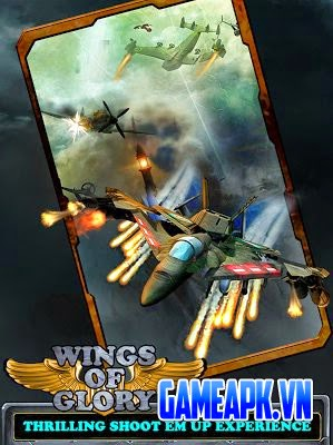 Gunship Shooter of Glory 2014 v1.7 hack full tiền cho Android