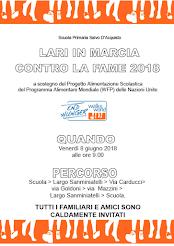 LARI IN MARCIA CONTRO LA FAME   8 GIUGNO 2018