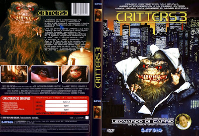 Critters 3 | 1991 , Cover, carátula, dvd