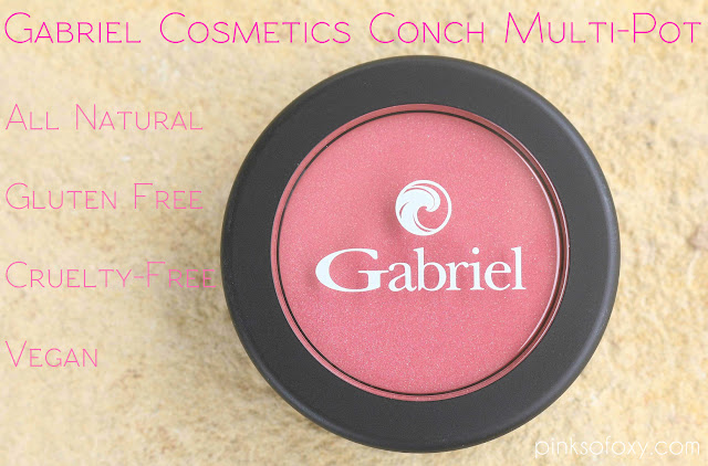 Gabriel Cosmetics Multi-Pot Conch Swatches