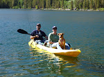 Kayaking with Hubby & Layla