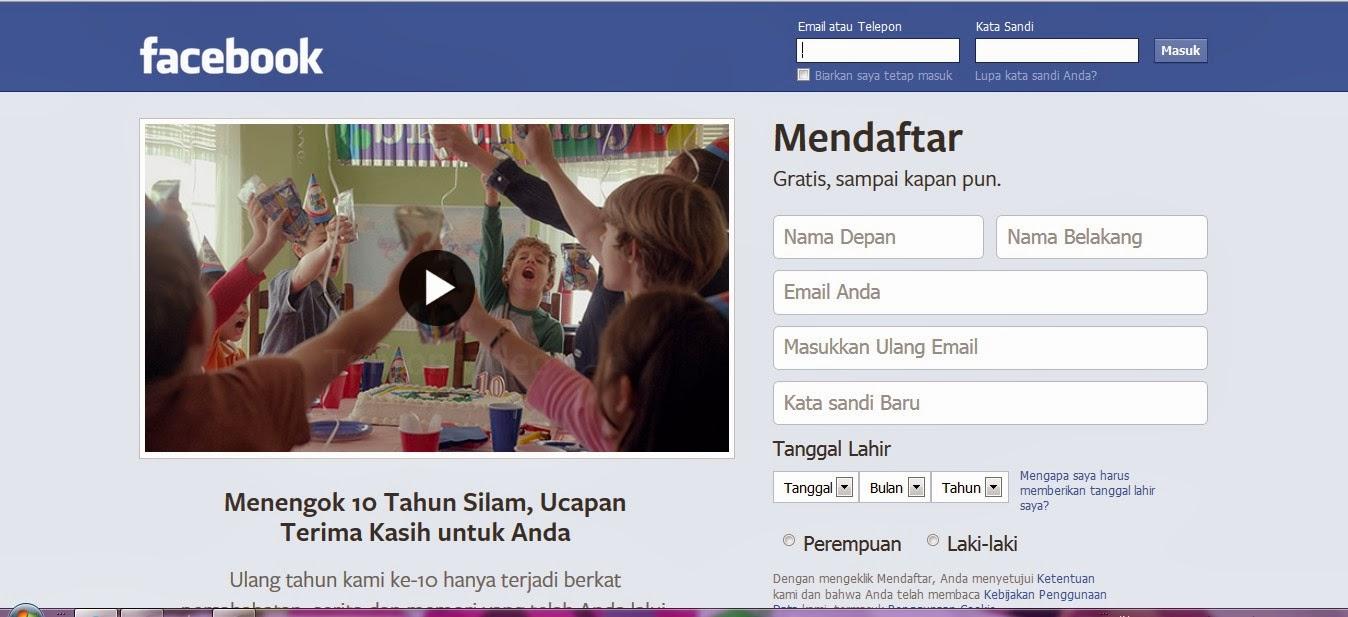 Inilah Tampilan Facebook dari Masa ke Masa
