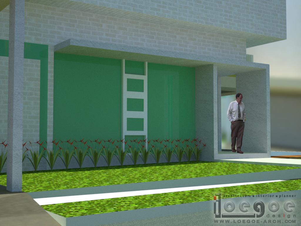 Foyer Modern Minimalis : Loegoe design architect rumah modern minimalis