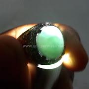 Cincin Batu Permata Hijau Garut - SP663