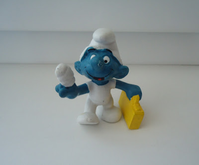 First Aid Smurf Figure W.Germany Peyo Schleich 2.0054