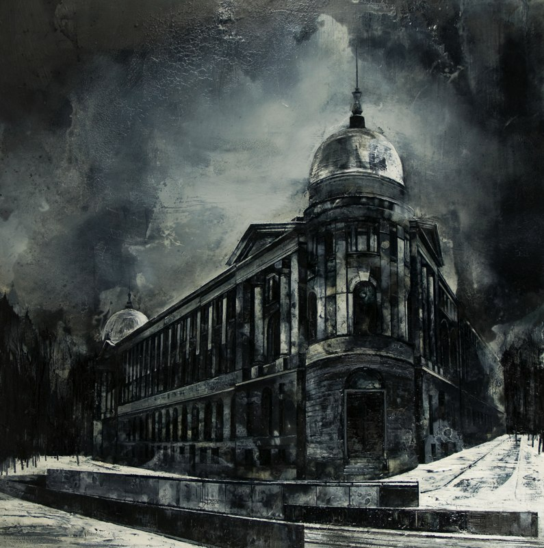 10-Nothing-Remains-Mine-Mark-Thompson-Austere-and-Desolate-Cityscapes-Paintings-www-designstack-co