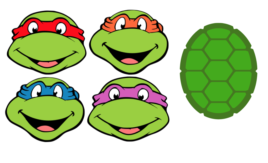 Ninja turtle shell logo - photo#17