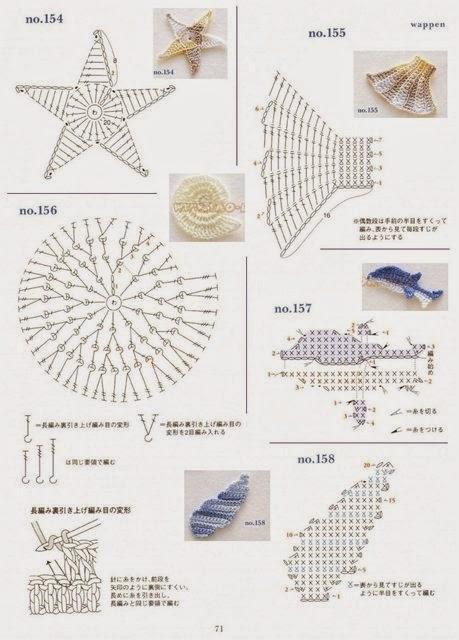 Морские ракушки крючком