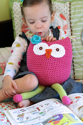 free crochet pattern owl softie