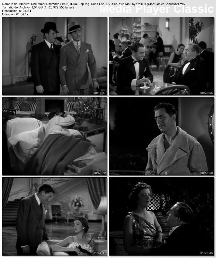 Imagenes de la pelicula: Una mujer difamada | 1936 | Libeled Lady