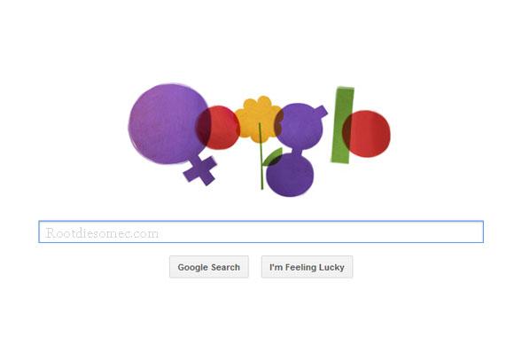 ... , itu hari ini google ikut memperingati Hari Perempuan Internasional