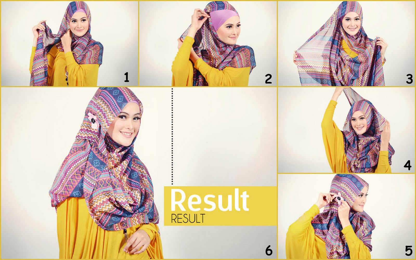 Tutorial Hijab Terbaru Tutorial Hijab Pashmina Simple