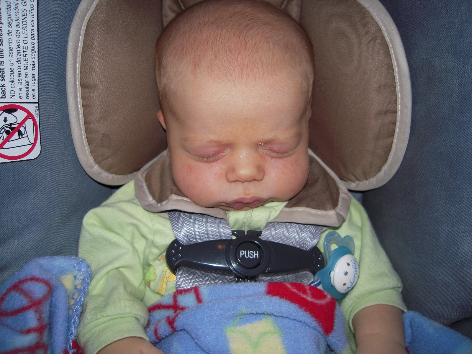 Jessica on Babies: Car Seat Rule #3: Newborns