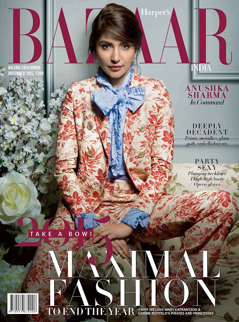 Anushka Sharma Harper's Bazaar India December 2015