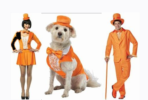 We Matching Pet And People Costumes