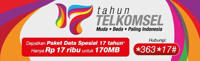 "Info Paket Flash Ultima 17K ""Anniversary 17th"""