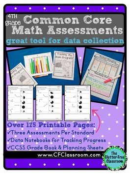 4th Grade Common Core Math Assessment