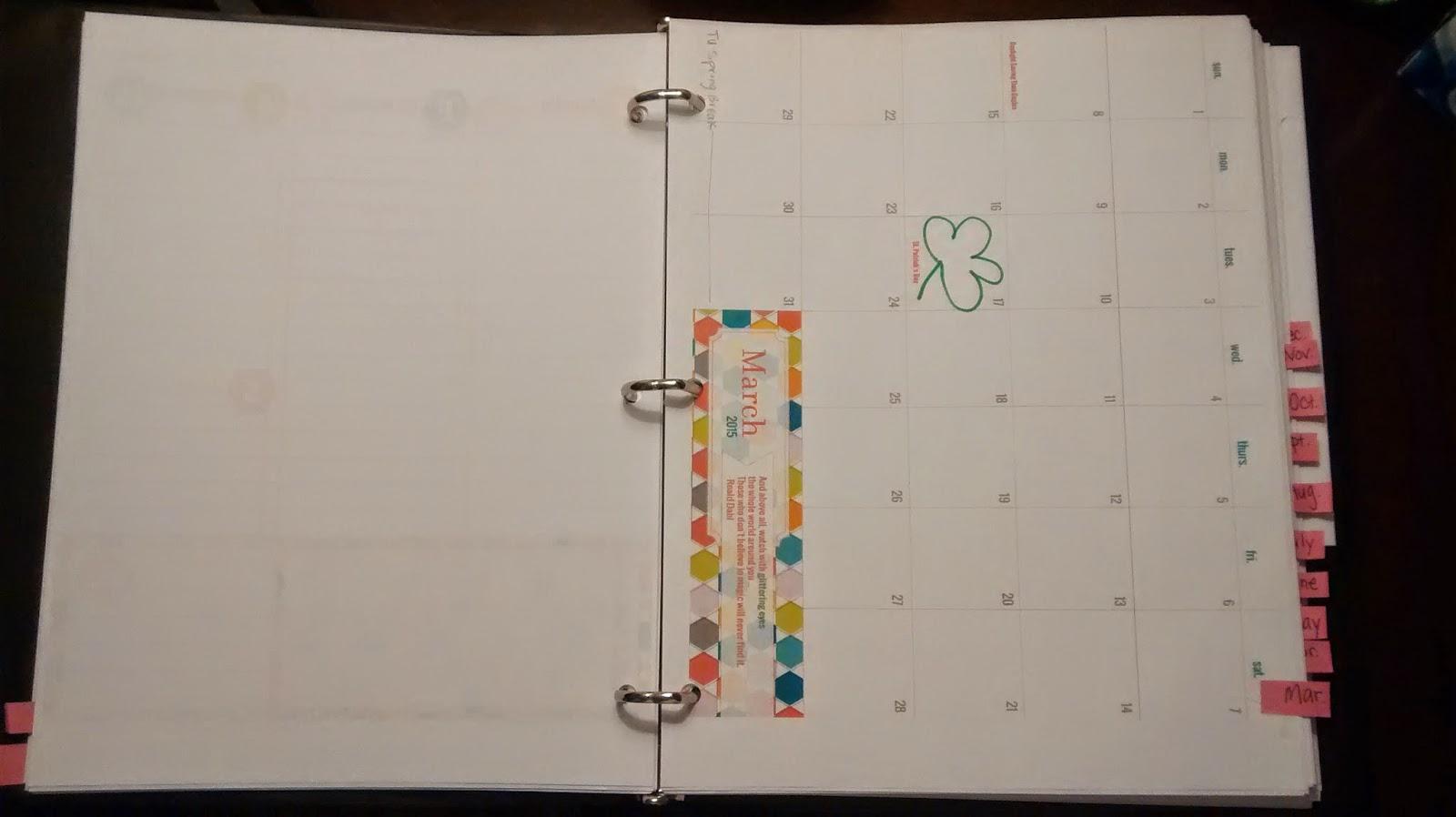 Homemade Calendar Cover : For the love of poland homemade planner