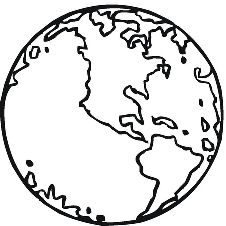 Planeta tierra para colorear - Imagui