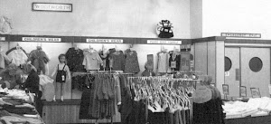 Clothing in Woolworths Commercial Road 1955