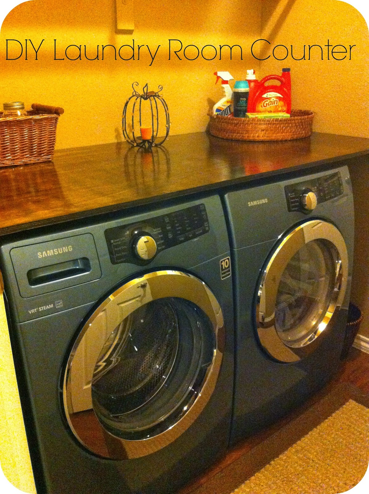 barksdale blessings diy laundry room counter