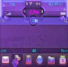 Ultraviolet L.E.D Theme