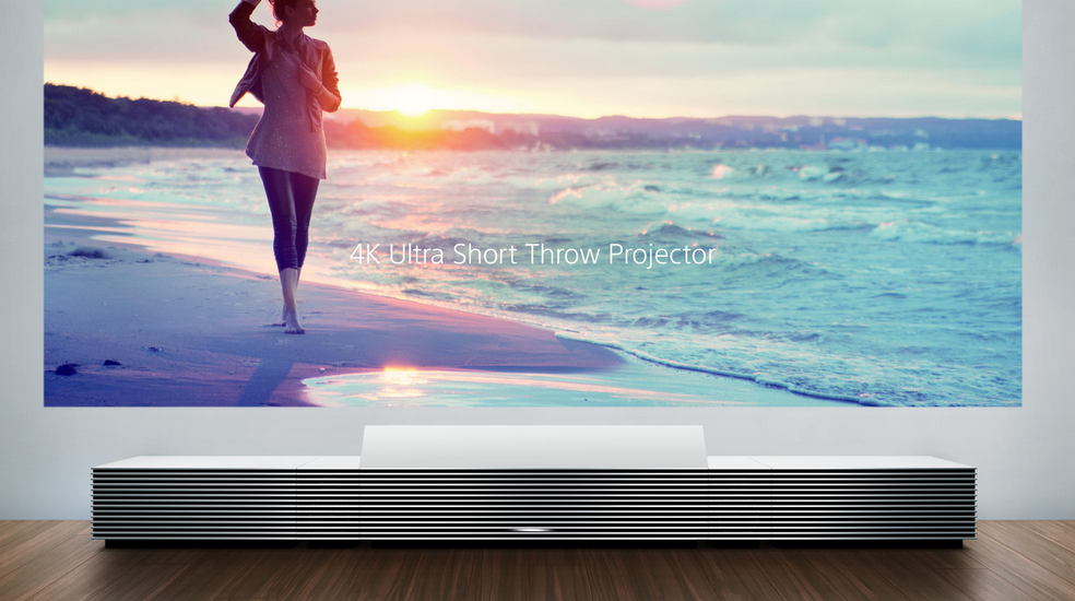 Sony 4K Ultra Short Throw Projector