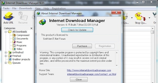 Key idm 6.15 build 7