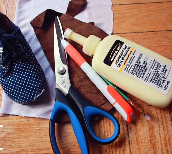 Herramientas necesarias para diy de arreglar zapatos