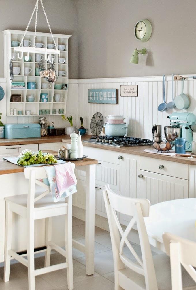 beach cottage style kitchens Beach Cottage Kitchen | Coastal Style | Bloglovin'
