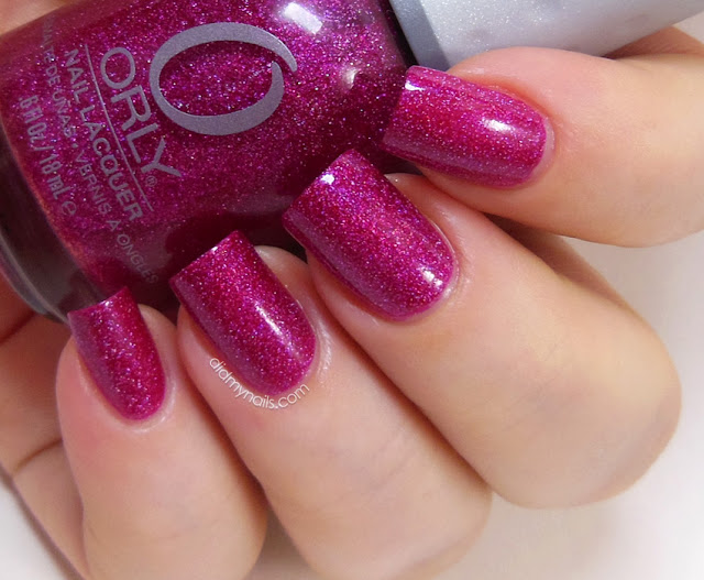 Orly Miss Conduct swatch