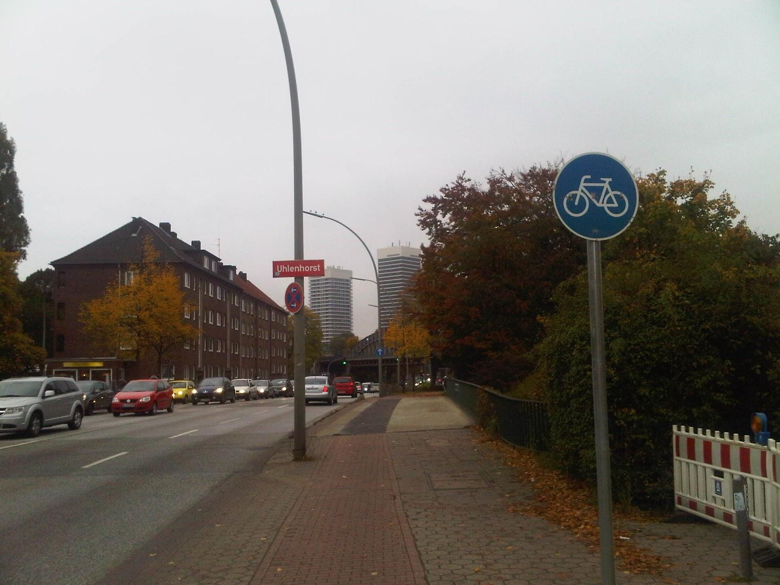Uhlenhorst - Hamburg - Herbst - Mundsburg-Towers