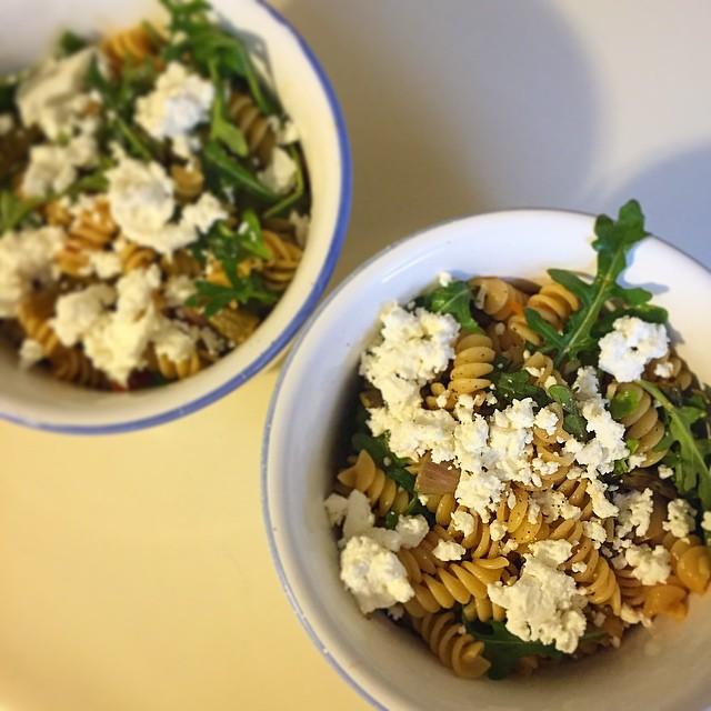 Meatless Monday | Roasted Veggie Pasta Salad