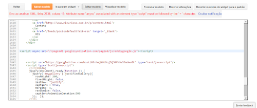 Conversor de código HTML