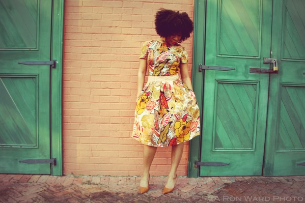 DIY Sewing Dress Fashion Ankara Inspired