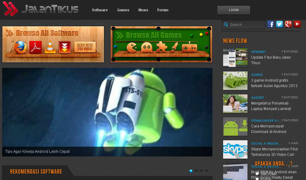 Jalantikus Com Download Game Pc Dan Android Gratis Terbaru Dengan