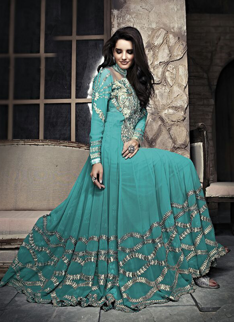 Online Wedding Wear Classic Anarkali Suit ~ Buy Indian Sarees ...