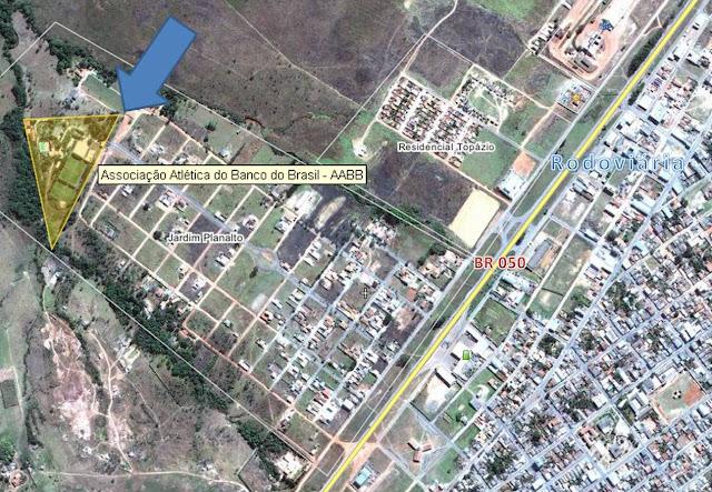 Localização da AABB de Cristalina